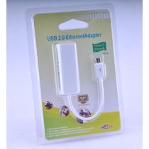 Adaptador De Rede Micro Usb 2.0 10/100mbps Rj45 Lan Ethernet