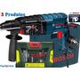 Furadeira Martelete 800w/220v Gbh 2-24 D + Kit 60 Pçs Bosch