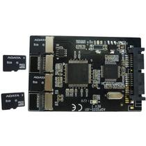 Adaptador 4 X Micro Sd Para Sata