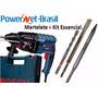 Furadeira Martelete Gbh 2-24 D Bosch + Kit Essencial.