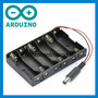 Adaptador Pilhas Arduino - Fonte Ligar Pilha Conector