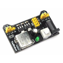 Fonte Ajustável Para Protoboard 3,3 V E 5 V - Arduino E Pic