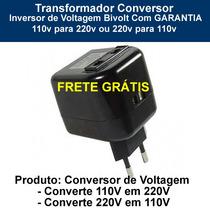 Inversor Conversor Voltagem 110v-220v / 220v-110v C/garantia