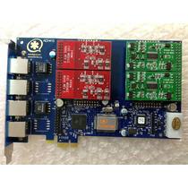 Aex 410p Digium Aex 410 P Pci-e Midiatek Eletronicos