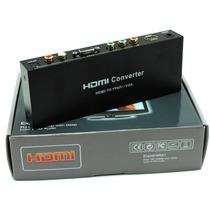 Conversor Adaptador Video Hdmi P/vga/v.componente Hdcrgb0102