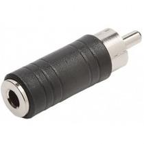 Plug Adaptador P2 Femea P/ Rca Macho Kit Com 2 Unidades