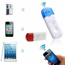 Transmissor Bluetooth Usb Celular Mp3 Pen Drive Som Carro