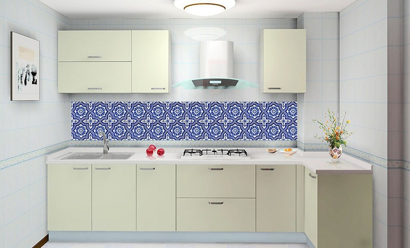 Adesivo Flor De Hibisco ~ Adesivo Azulejo Decorativo Cozinha Banheiro Cód 001 R$ 19,98 no MercadoLivre