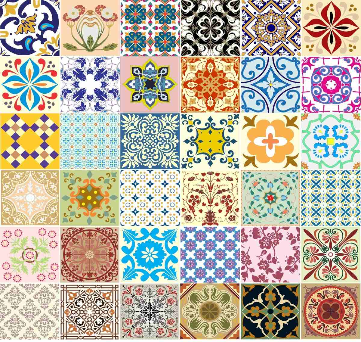 Adesivo azulejos decorativos 36 unidades frete gr tis r 69 89 no mercadolivre - Calcular valor tasacion piso ...