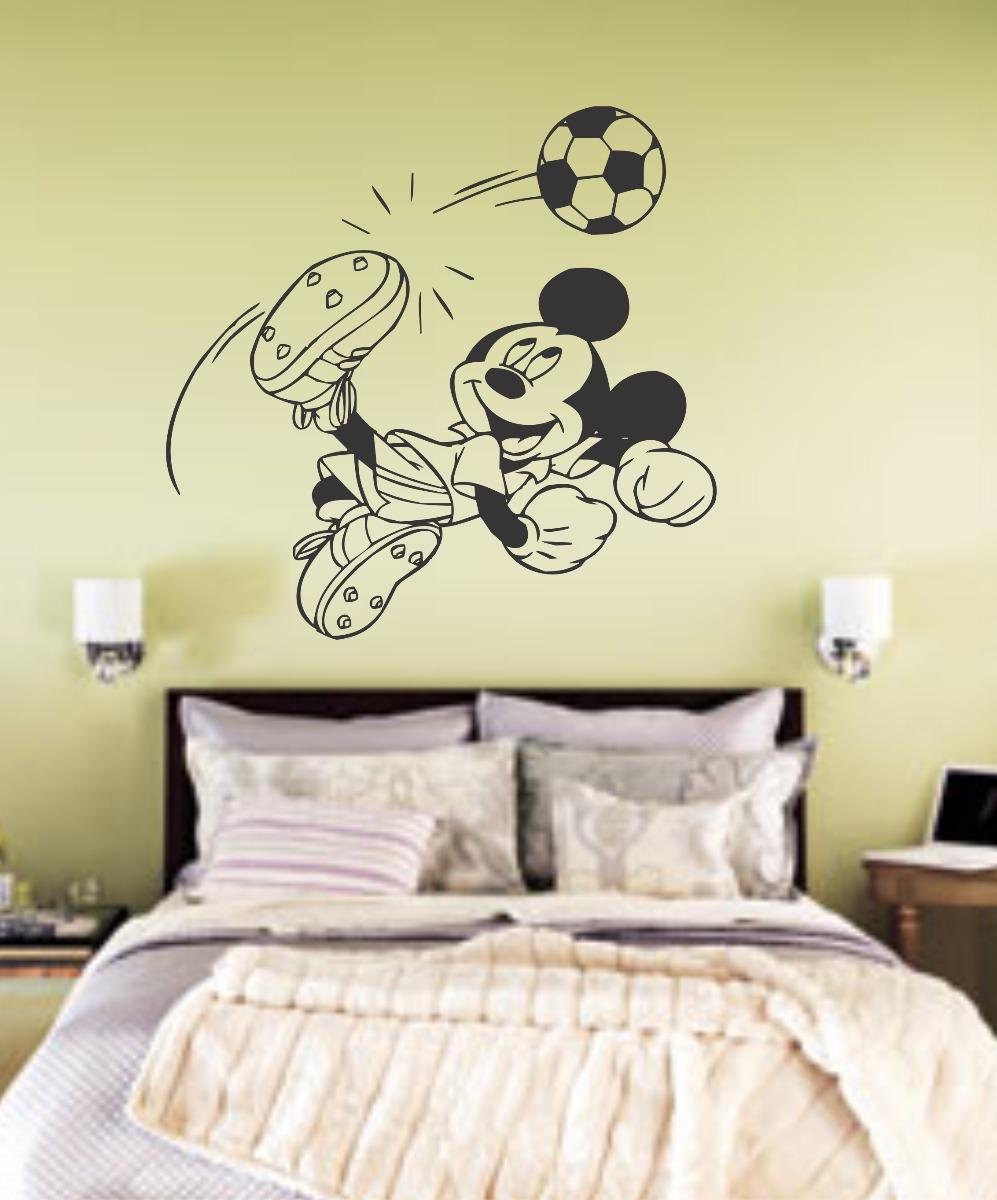 Desenho No Quarto ~ Adesivo De Parede Infantil Mickey Desenho Filme Quarto R$ 24,98 no MercadoLivre