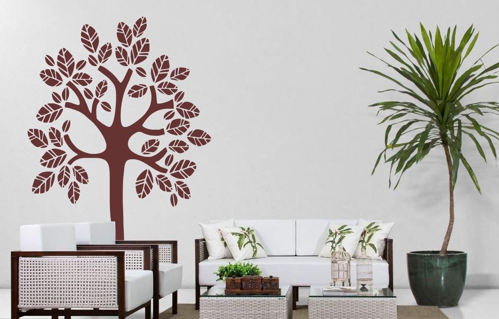 Aparador Blanco Roble ~ Adesivo De Parede Personalizado DecorativoÁrvore R$ 79,99 no MercadoLivre