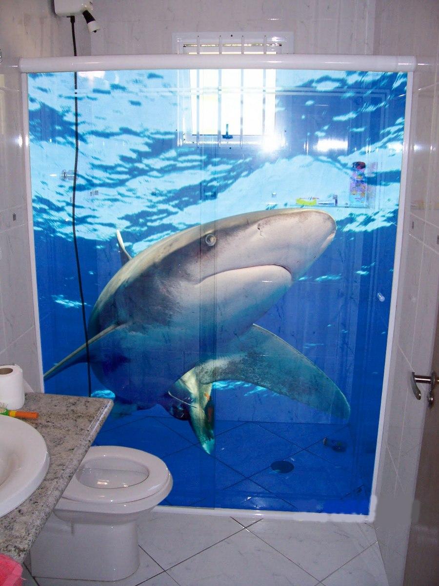 adesivo decorativo de parede e box de banheiro -> Adesivo Para Decoracao De Banheiro