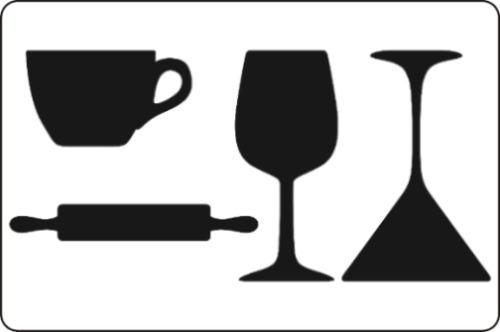 Adesivo Decorativo - Lousa - Para Escrever Com Giz