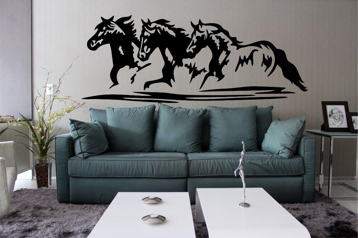 Parede Quarto Sala Cavalo Cowboy Rodeio R$ 21 99 no MercadoLivre #455257 1200x800 Armario Banheiro Rodeio