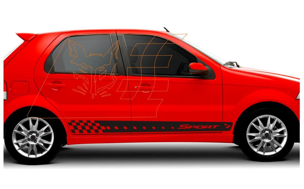 Adesivo Fiat Palio Siena Weekend Kit Acess 243 Rios Tuning