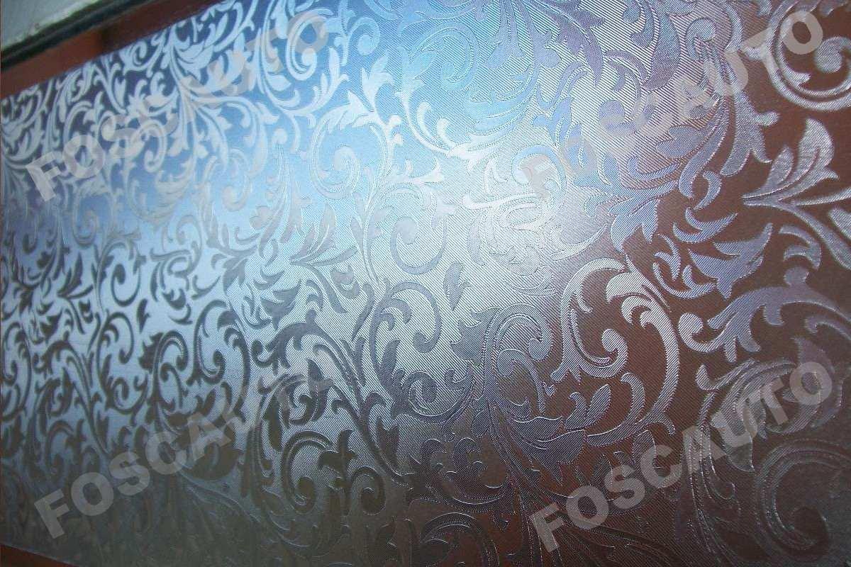 adesivo jateado texturizado p/ box banheiro vidros janelas #3C6E8F 1200 800