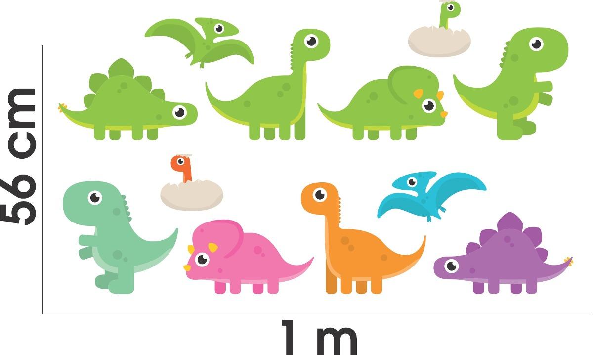 Kit banheiro infantil : Adesivo parede porta box banheiro infantil kit dinossauro