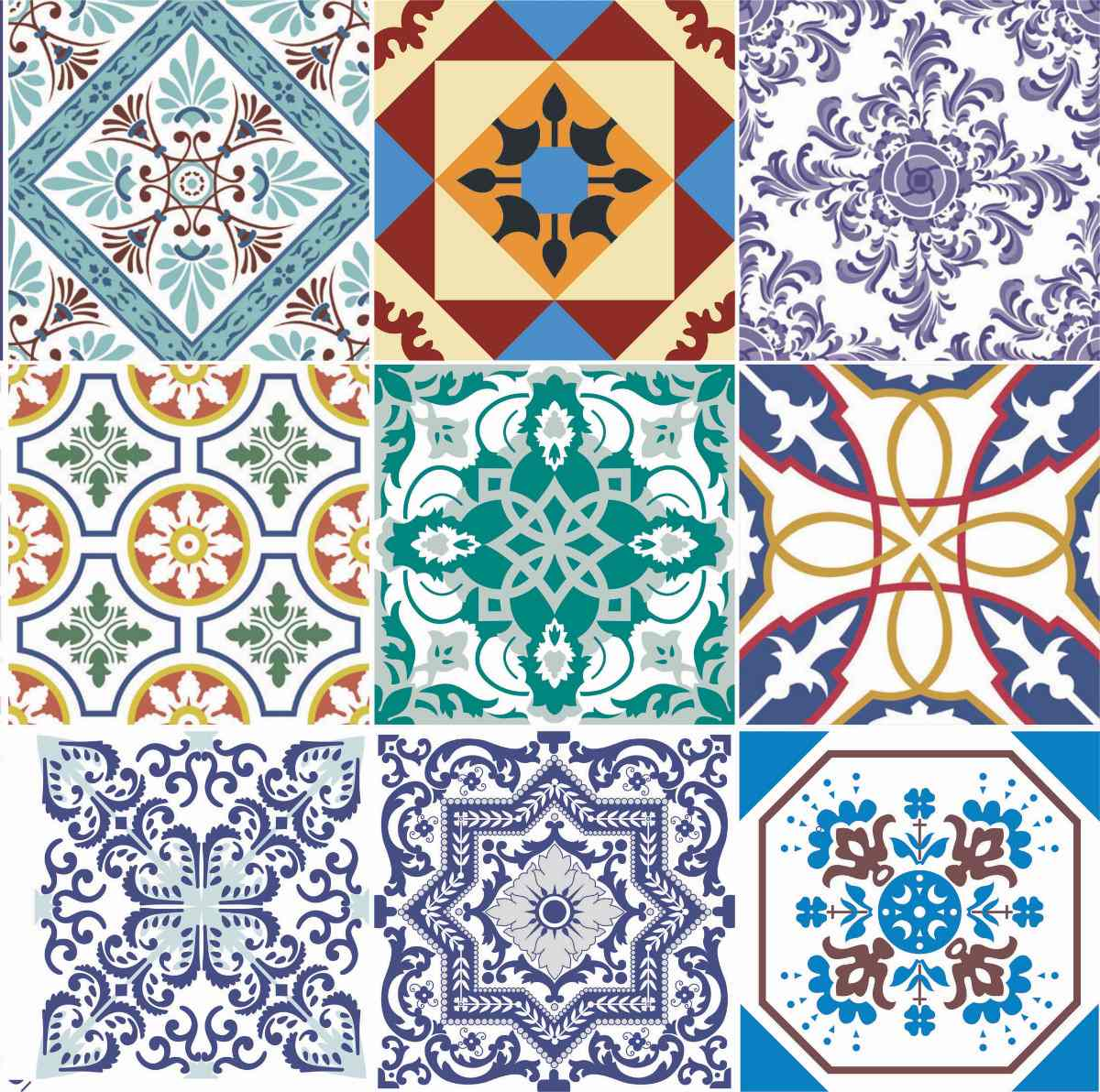 Doce diferen a azulejos portugueses e ladrilhos - Ladrillo hidraulico ...