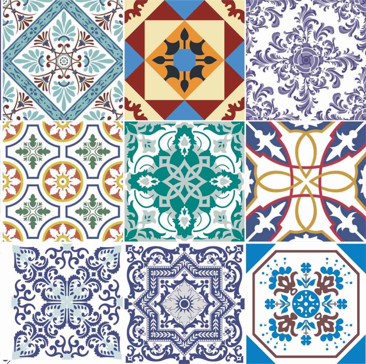 Doce diferen a azulejos portugueses e ladrilhos - Azulejos de pared ...