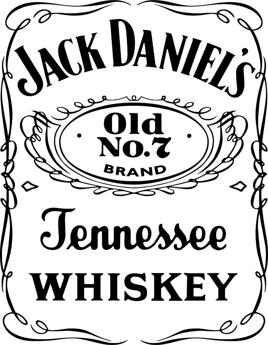 Jack Daniels Logo Car Interior Design