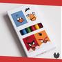 Lembrancinha Giz De Cera Personalizado Angrybirds - 10uni