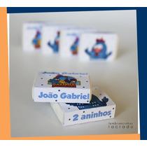 Borracha Capinha Personalizada - Galinha Pintadinha - 10unid