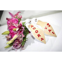 Adesivo Sapato Noiva E Noivo - Casamento