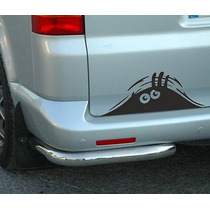 Adesivo Olhos Espiando - Decorativo Carro Moto Barco Casa