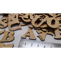 6 Letras Apliques Recortes Em Mdf Decor Festas 2,5cm Altura