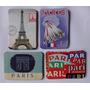 4 Imãs Magnético Geladeira Retrô Vintage Paris Arco Triunfo