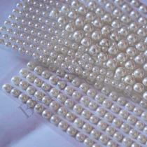 Mini Cartela Adesivas Meia Pérola 4mm,5mm,6mm R$2,70 Cada