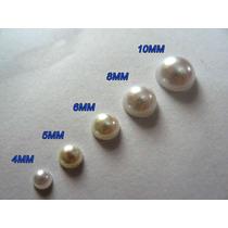 Cartelas Meia Pérola Adesiva 4mm,5mm,6mm,8mm,10mm