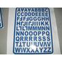 Adesivo De Letras Etiquetas Em Vinil. 3 Cm