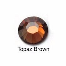 Strass Topaz Hotfix 3mm 1.000 Unidades Termocolante