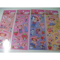 Moranguinho Coleção Cartela Adesivo Stickers C/ 12 Cartelas