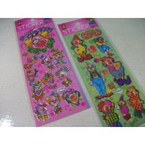 Palhaços Kit Adesivo Stickers C/ 12 Cartelas