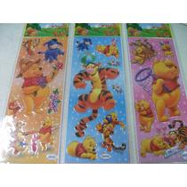 Ursinho Pool Adesivo Stickers C/ 12 Cartelas