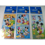 Mickey E Cia Cartela Adesivo Stickers C/ 12 Cartelas