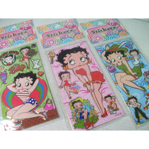 Betty Boop Kit Adesivo Stickers C/ 12 Cartelas
