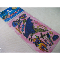 Batman Kit Adesivo Stickers C/ 12 Cartelas