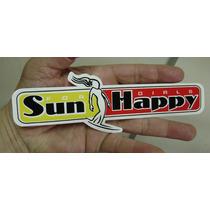 Adesivo Sun Happy For Girls Surf / Frete Gratis