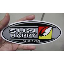 Adesivo Sun Happy / Surf Co. / Frete Gratis