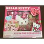 Oferta Kit Scrapbook All In One Hello Kitty Original 400 Pçs