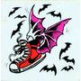 Adesivo Skate O Tênis - Anos 80 - 12 X 13