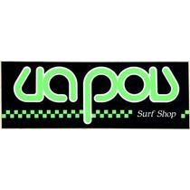 Adesivo Ua Pou Surf Motocross - Anos 80 - 23,8 X 8,7 Raro