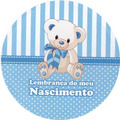 100 Etiquetas Adesivas Redondas Para Latinhas Lembranças 5x5