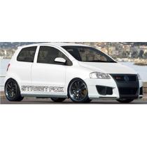 Kit Adesivo Carro Vw Fox Streetfox - Personalização Tuning.