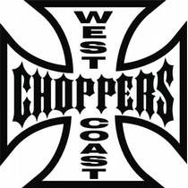 Adesivo West Coast Choppers Vinil Recorte A Laser