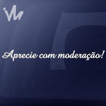 Adesivo Aprecie Com Moderação Jdm Rebaixado Euro Carro Moto