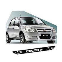 Adesivo Protetor Soleira Type02 Porta Carro Chevrolet Celta